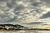 Cannes French Riviera Under A Cloudy Sky